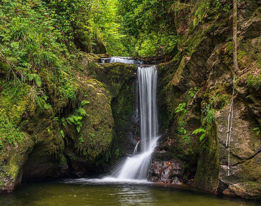 Wasserfall - Kletterseil - Badeplatz?