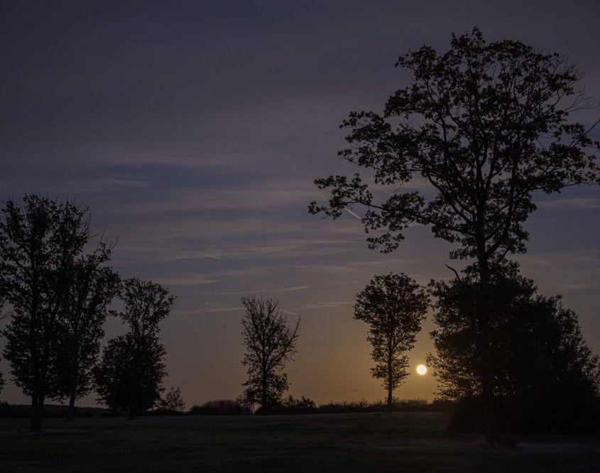 Mondaufgang am Rodder Maar