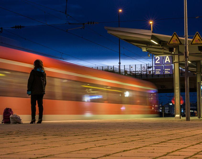 Last Train, München, S-Bahnhof Hirschgarten