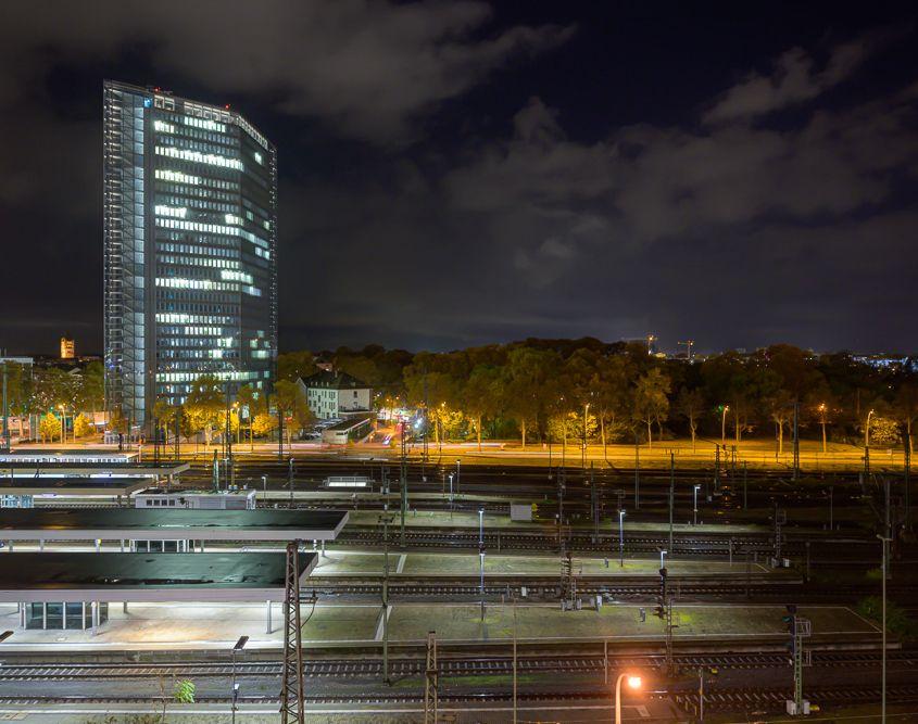 Mannheim - Abendhimmel
