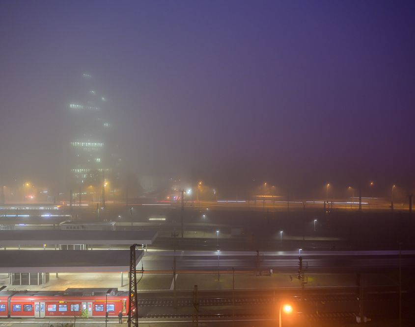 Mannheim - Morgennebel