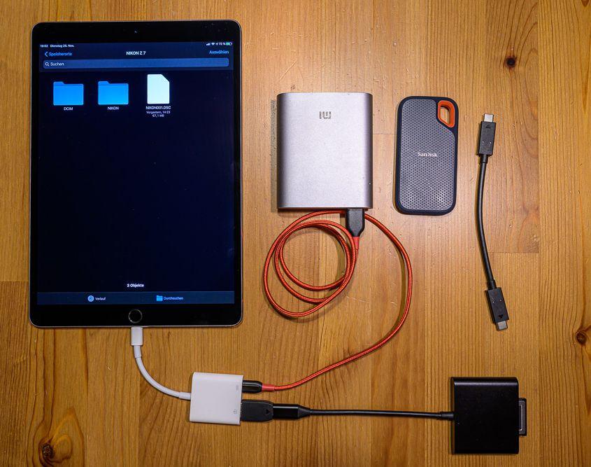 Lightweight travel setup