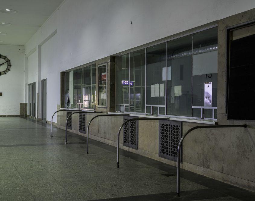 Empfangshalle des Starnberger Flügelbahnhofes, München