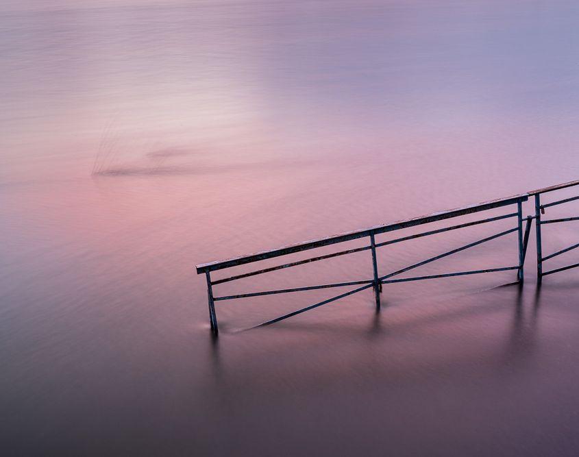 Hochwasser, Pegelturm Neuwied