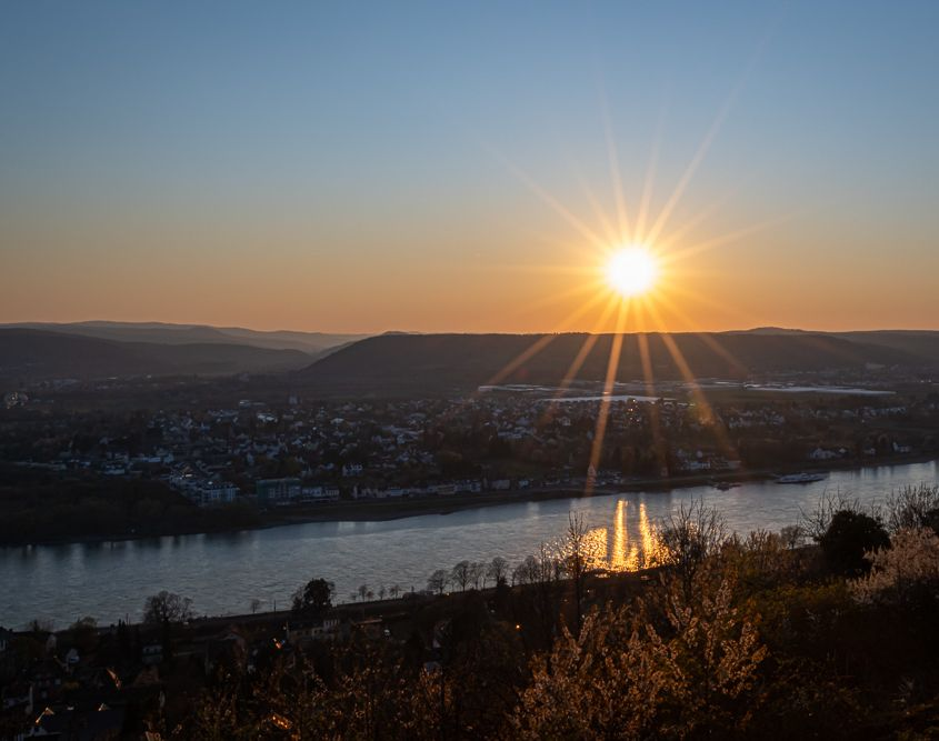 f/32 Sunset, Linz