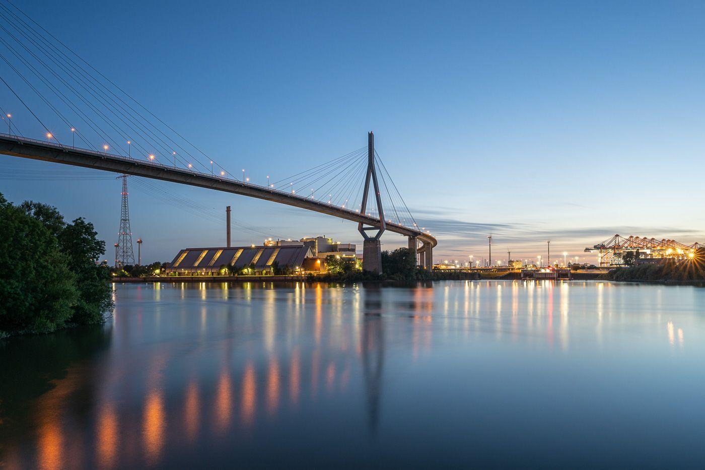Jahresrückblick 2020 - Juli - Köhlbrandbrücke in Hamburg