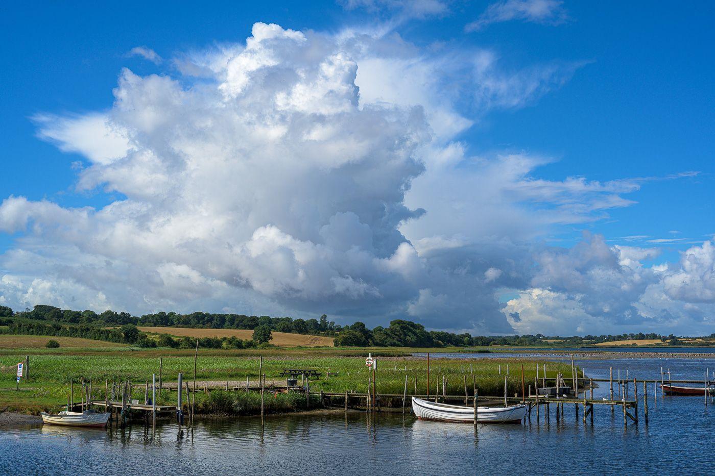 Jahresrückblick 2020 - August - Blick auf Hejls Nor in Hejlsminde, Dänemark